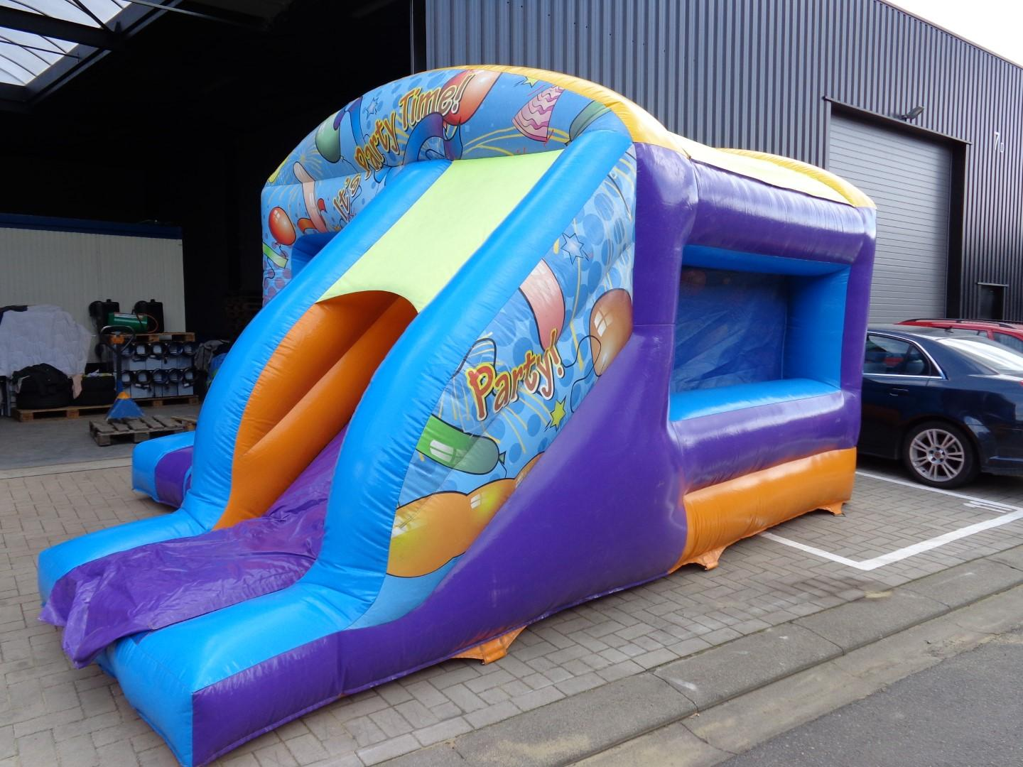 Springkasteel: Jump & slide party