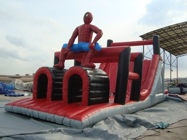 Hindernisbaan: Spiderman